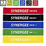 Exercise Fitness Resistance Mini Loop Bands That Perform Better When Working Out at Home or The Gym by Synergee