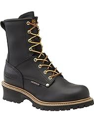 Mens Carolina® 8 Steel Toe Loggers Boot