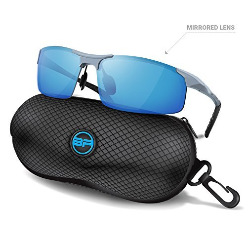 09765a89a5 BLUPOND Sports Sunglasses for Men Women - Anti Fog Polarized Shooting  Safety Glasses for Ultimate Eye Protection