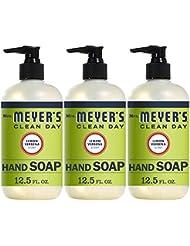 Mrs. Meyer's Clean Day Liquid Hand Soap, Lemon Verbena Scent, 12.5 fl oz (Pack of 3) (Pack of 3)
