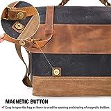 Mens Messenger Bag 15.6 Inch Waterproof Vintage