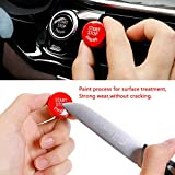 Sports Red Start Stop Engine Switch Button for