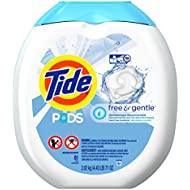 Tide PODS Free & Gentle HE Turbo Laundry Detergent Pacs...