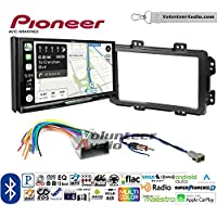 Volunteer Audio Pioneer AVIC-W8400NEX Double Din Radio Install Kit with Navigation, Apple CarPlay and Android Auto Fits 2013-2014 Honda Civic