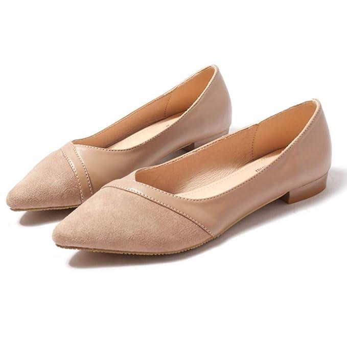 Zapatos Planos Zapatos De Mujer Mocasines Bombas Zapatos Zapatillas De Ballet Zapatos De Vestir De Dama De Honor: Amazon.es: Ropa y accesorios