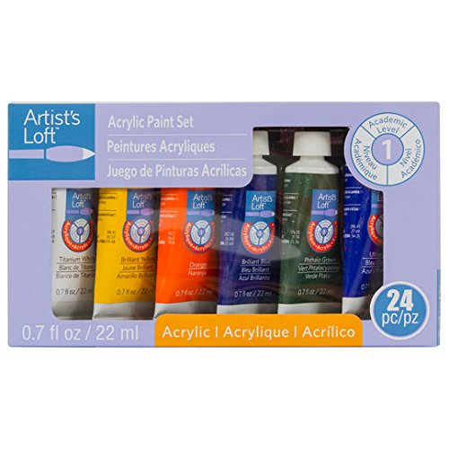 24-Set Acrylic Paint Set