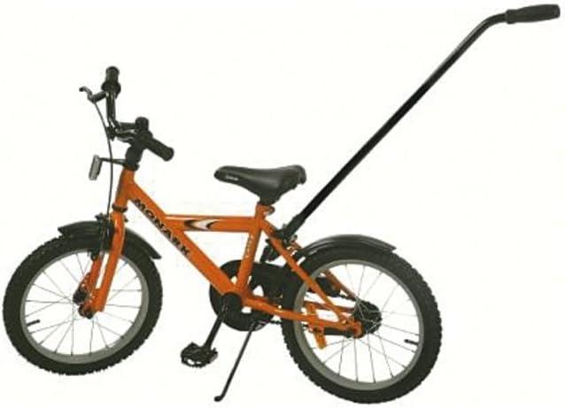 Atran Velo - Barra de empuje para bicicleta infantil (extraíble, fácil de montar)