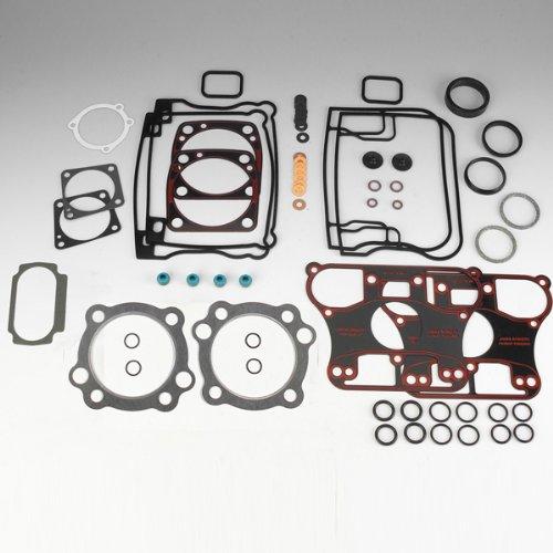 Harley Shovelhead Engine - James Gaskets Top End Gasket Kit, 3-5/8 in. Bore for Harley Davidson 1966-78 Sh - One Size
