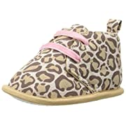 Luvable Friends Girl's Desert Boots (Infant), Leopard, 6-12 Months M US Infant
