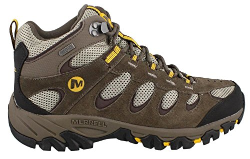 Men's Merrell, Ridgepass Mid Waterproof Hiking Shoe Ideal for taking on hikes n