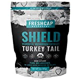Cheap SHIELD – Turkey Tail Mushroom Extract Powder – USDA Organic -60 g- Supplement – Immune Protection – Add to Coffee/Tea/Smoothies-Real Fruiting Body No Fillers