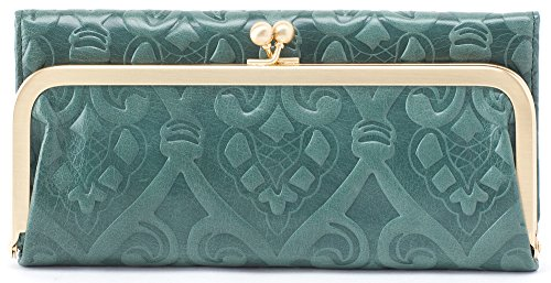Hobo Womens Rachel Vintage Wallet Leather Clutch Purse (Embossed Jasper) by HOBO