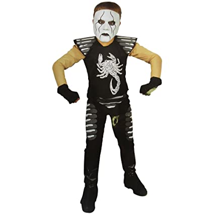 sting wrestler wcw world championship wrestling costume child size 8 10