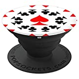 COOL PLAYING CARDS-CELL PHONE MOUNT POP SOCKS - PopSockets Grip and Stand for Phones and Tablets