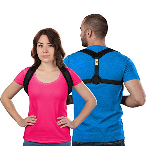 Premium Posture Corrector for Women, Men \u2013 Adjustable, Comfortable Back Brace Best Medical Device to Improve Bad Posture, Shoulder Alignment