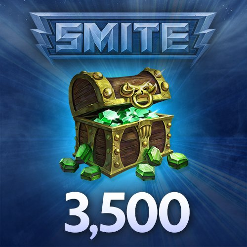 400 smite gems - 3