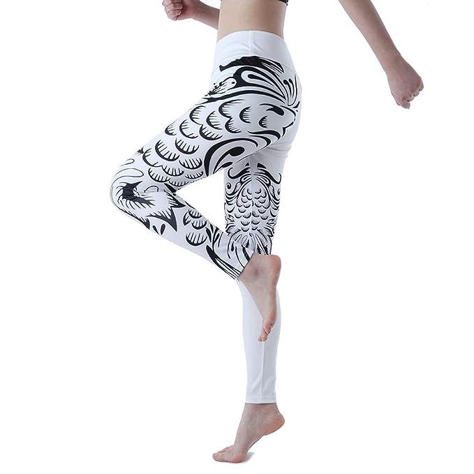 RISTHY Leggings Deportes Pantalones para Mujeres Totem ...