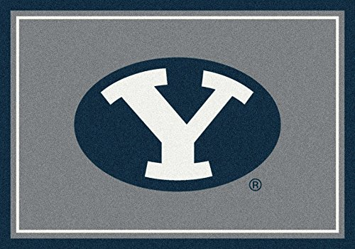 NCAA Team Spirit Rug - Brigham Young (BYU) Cougars, 5'4'' x 7'8'' by Millilken