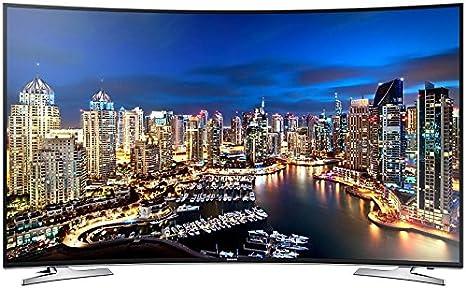 Samsung UE55HU7100S - TV Led Curvo 55 Ue55Hu7100 Uhd 4K, 4 Hdmi, Wi-Fi Y Smart TV: Amazon.es: Electrónica