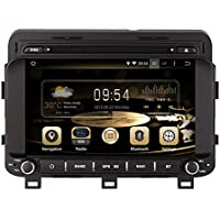 GPS Navigation Android 7.1 Car Stereo CD DVD Player In Dash Radio with 8 LCD Bluetooth Multimedia System for KIA K5/OPTIMA 2014-/Kia Magentis