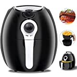 ZENY ZENY 3.7-Quart Air Fryer For Healthy Oil Free Cooking, w/Cookbook, Recipes, Dishwasher Safe Parts, Auto Shut off & Timer