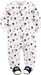 Carter\'s Baby Boys Terry, White, 6 Months