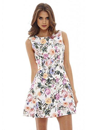 Lavender Floral Dress - 5