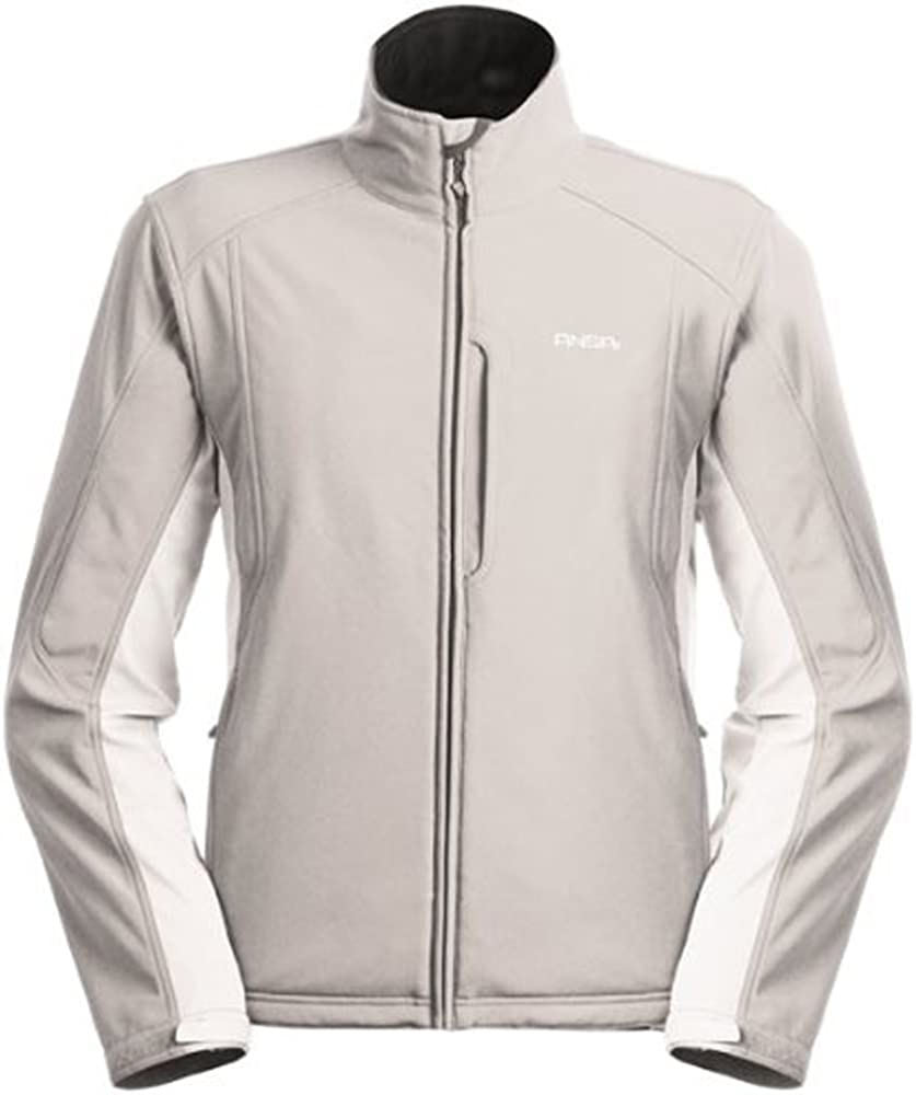 Men's Glasgow Jacket by Ansai in Silver - X-Large : Skiing Jackets : Clothing