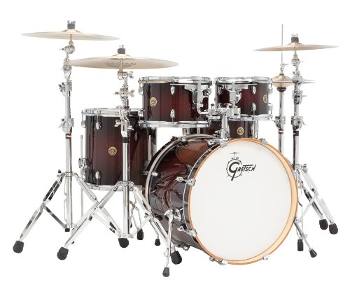 Gretsch Catalina Maple 5 Piece Drum Kit with Free Hardware-Dark (Gretsch Catalina Maple 5 Piece)