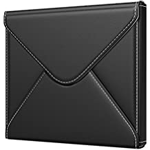 """MoKo Kindle Oasis 7 inch Sleeve Case, Premium PU Leather Protective Envelope Cover Bag Pouch for Amazon 7"""" Kindle Oasis E-Reader (9th Generation, 2017 Release) - Black"""