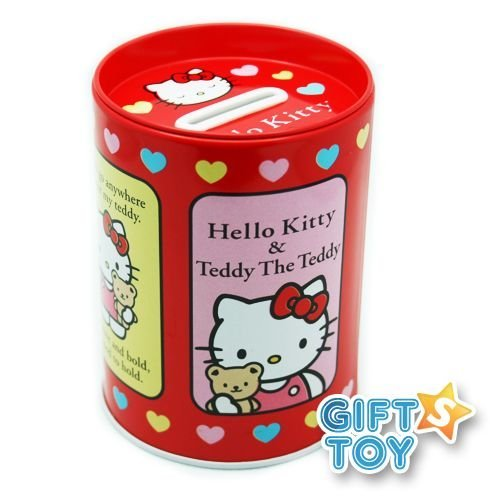 Hello Kitty : Coin Bank (Red)