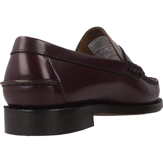 Sebago Classic Penny Brushed, Mocasines para Hombre: Amazon.es: Zapatos y complementos