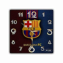 TimeTurnersClock FBA Barcelona FC 11,4 Football Soccer Handmade Wall Clock