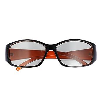 3D Glasses, Andoer® ph0039 Gafas 3D pasiva Circular polarizadas para Televisión polarizado Real D 3D cines para Sharp Samsung Panasonic: Amazon.es: ...
