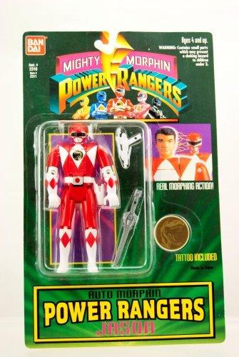 Mighty Morphin Power Rangers Auto Morphin Jason from
