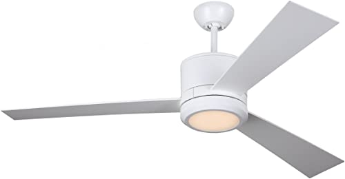 Monte Carlo 3VNR52RZWD, Vision 52 Ceiling Fan, Rubberized White