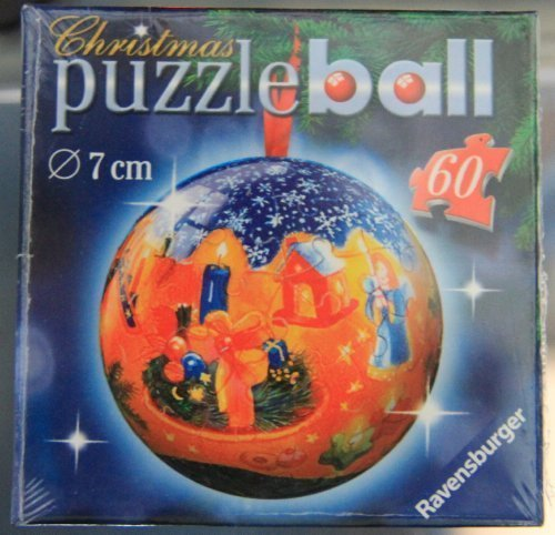 Puzzleball Christmas Ornament - Nativity Scene