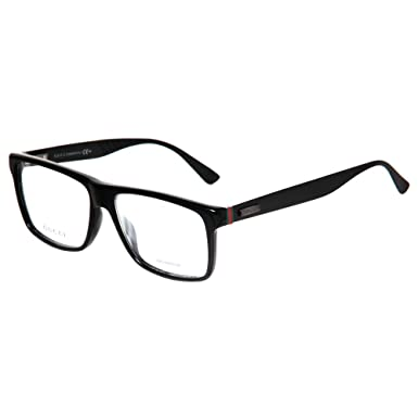 gucci eyeglasses. gucci eyeglasses 1077 0263 black matte 55mm gucci