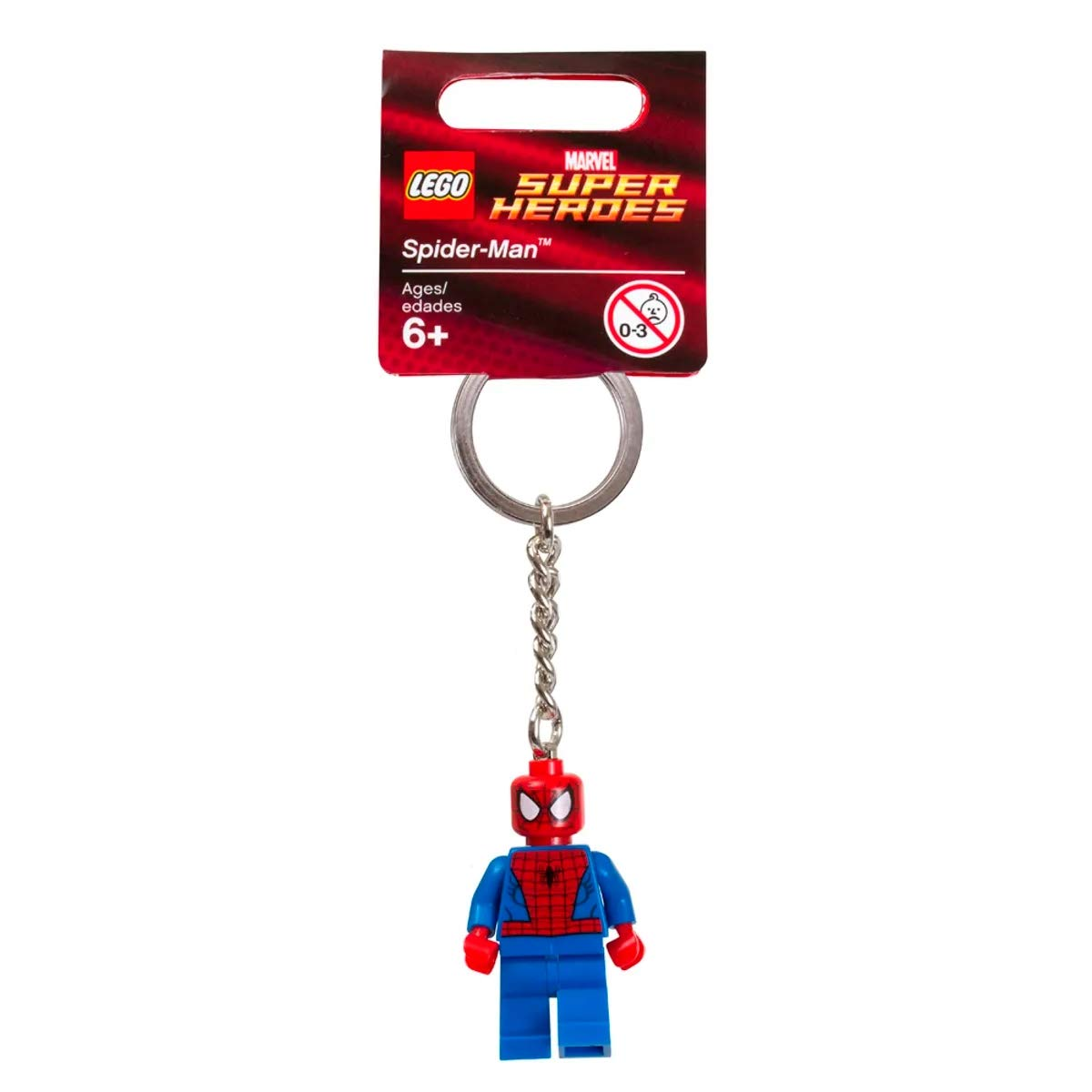 LEGO Marvel Super Heroes Spider-Man Key Chain Juego de construcción - Juegos de construcción (6 año(s))
