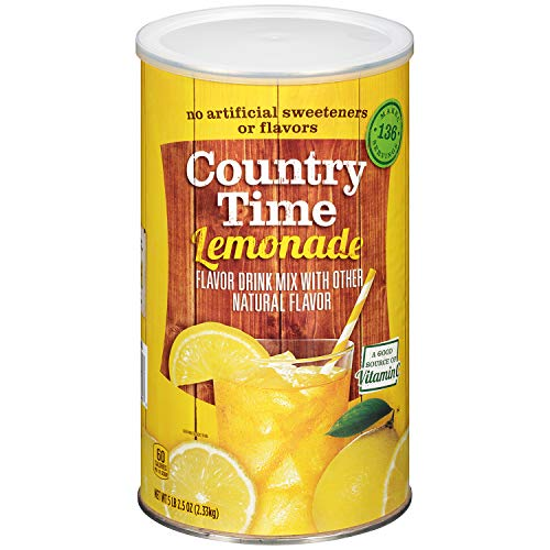 (Country Time Flavored Drink Mix, Lemonade, 82.5 Ounce Canister)