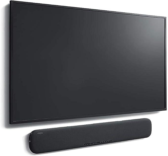 Yamaha YAS-109 BL - Barra de Sonido con Alexa Integrada, Bluetooth, Negro: Amazon.es: Electrónica