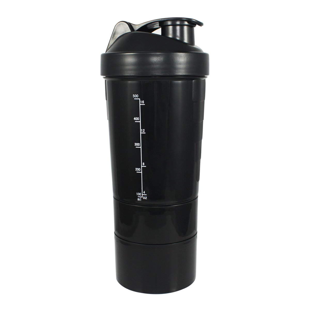 SuperShaker Shaker Bottle with Advanced Multistack Storage Compartments by SuperShaker: Amazon.es: Hogar