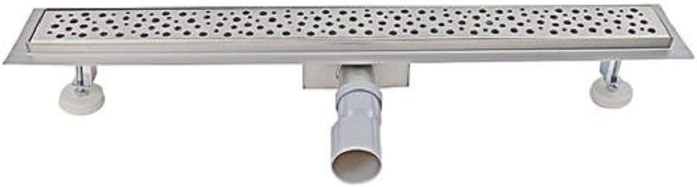 Caniveau de douche acier inoxydable de 90 cm le mod/èle 2 en 1