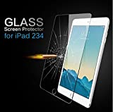 TIRIN Apple iPad 234 [2nd 3rd 4th Generation] Premium Tempered Glass SHATTERPROOF Scratch Resistant, Anti Fingerprint, Anti Bubble, Explosion Proof, Crystal Clear Screen Protector