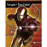 Iron Man Invitations w/ Envelopes (8ct)