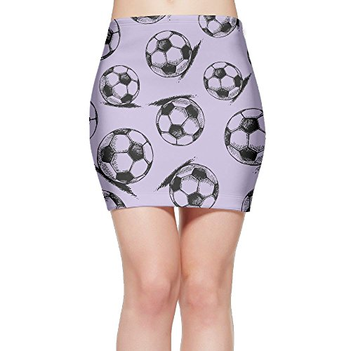 SKIRTS WWE Soccer-Football-Sport Women Sexy High Waist Mini Short Skirts by SKIRTS WWE