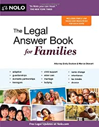 The Legal Answer Book for Families