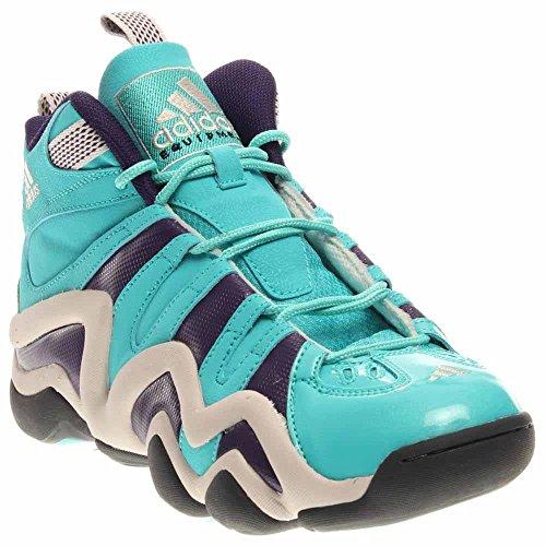Adidas Performance Mens Crazy 8 Scarpa Da Basket Menta / Viola