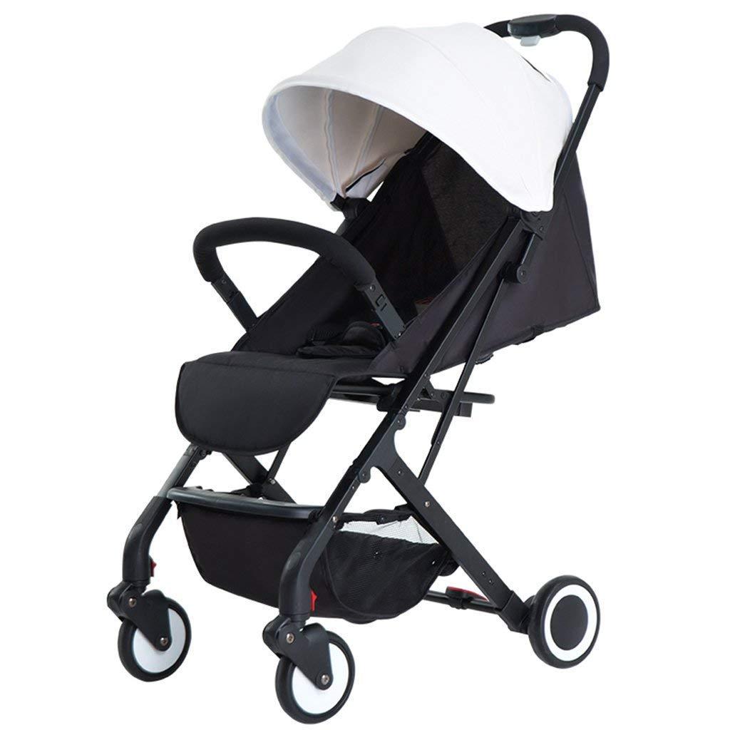 SED Trolley Child Take A Walk Carritos para bebés Light Folding Simple 1 Trolley de 3 años Puede Viajar Coche para niños Cochecito Plegable para bebés Kids ...