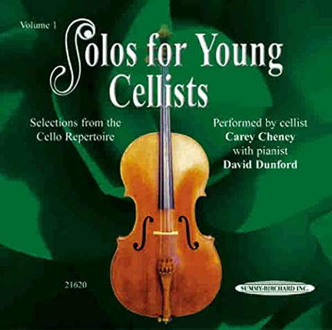 Solos for Young Cellists CD, Volume 1 (Learning Cello Dvd)